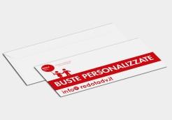 Prodotto pratico e utile per inviare la tua corrispondenza e farti sempre riconoscere. Stampa laser ad alta qualità su tutto il fronte della busta.